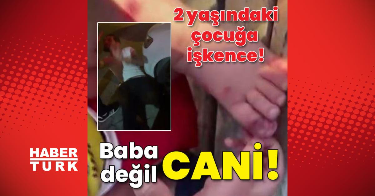 2 yaşındaki çocuğa işkence! Baba dehşeti!