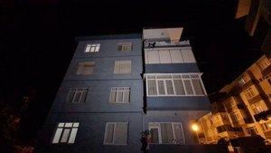 4'üncü kattan düşen çocuk ağır yaralandı