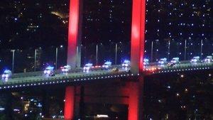 61 ambulans İstanbul'a geldi