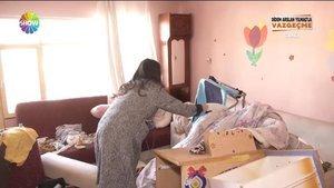 9 aylık bebeği çöp evde büyüttüler!