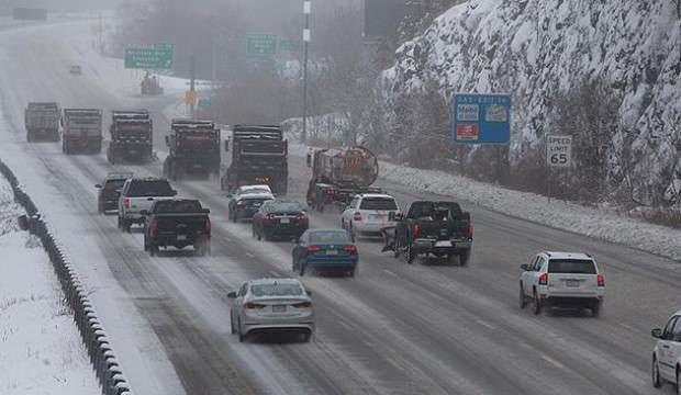 ABD'de kış şartları hayatı olumsuz etkiliyor: 11 ölü