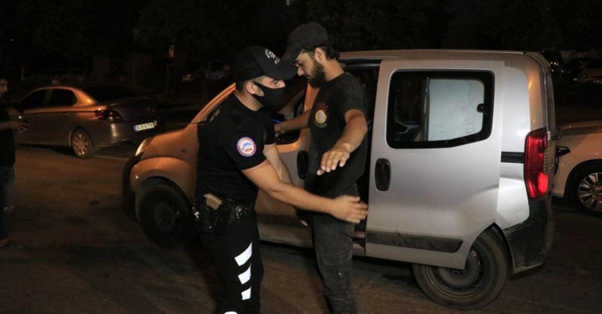 Adana'da 'Huzurlu Sokaklar Uygulaması' yapıldı