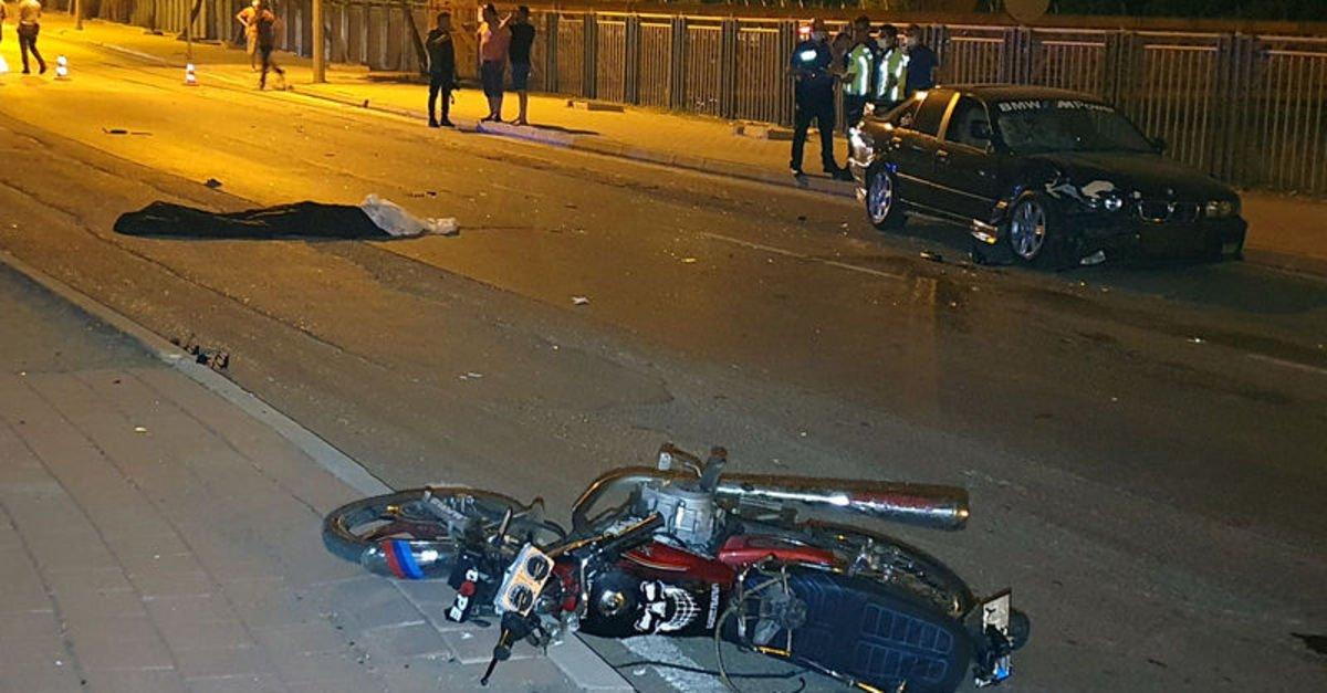Adana'da otomobil ile motosiklet çarpıştı: 1 ölü