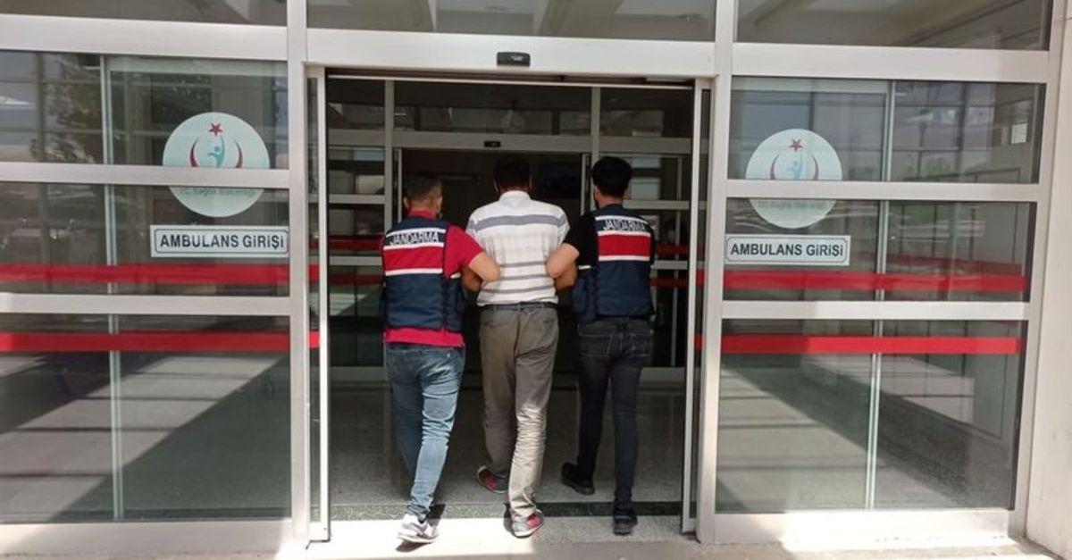Adıyaman'da teröristlere kıyafet yardımı yaptığı iddiasıyla 1 şüpheli tutuklandı
