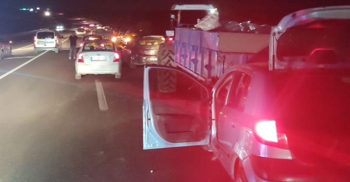 Adıyaman'da zincirleme trafik kazası: 8 yaralı