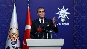 AK Parti Sözcüsü Çelik: Muhabir kılığında provokatör!