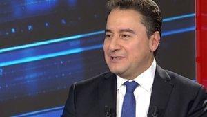 Ali Babacan Habertürk'te soruları yanıtladı