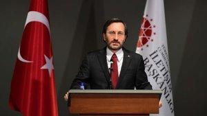Altun: Bütün dertleri PKK'ya propaganda desteği sağlamak