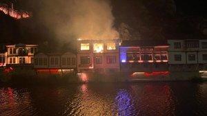 Amasya'da korkutan yangın!