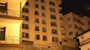 Ankara'da apartmanın temeli kaydı: 15 bina tahliye edildi