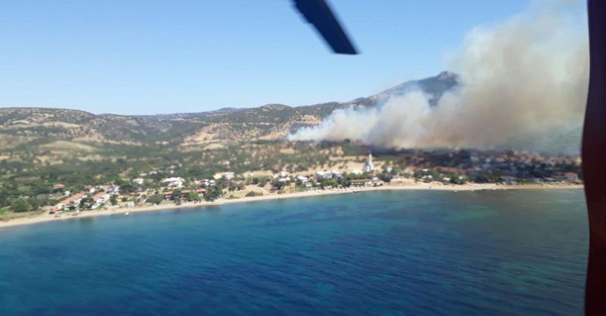 Antalya ve Çanakkale'de yangın çıktı
