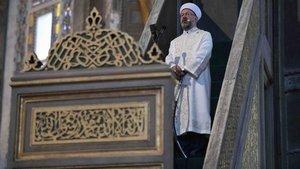 Ayasofya Camii'nde bayram namazı kıldıracak