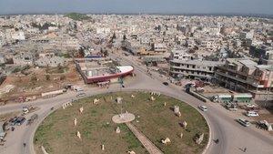 Azez'de PKK'ya ait bomba yüklü aracı ele geçirildi