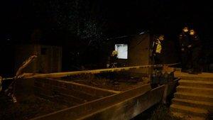 Bağ evinde çıkan yangında bir kişi öldü