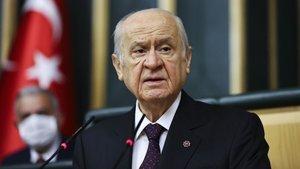Bahçeli: Kılıçdaroğlu kara mizahta ustalaştı