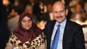 Bakan Soylu'nun annesi son yolculuğuna uğurlandı