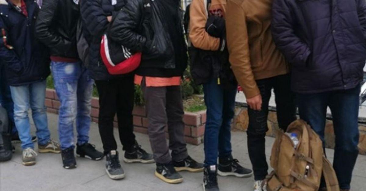 Başkent'te 48 düzensiz göçmen yakalandı