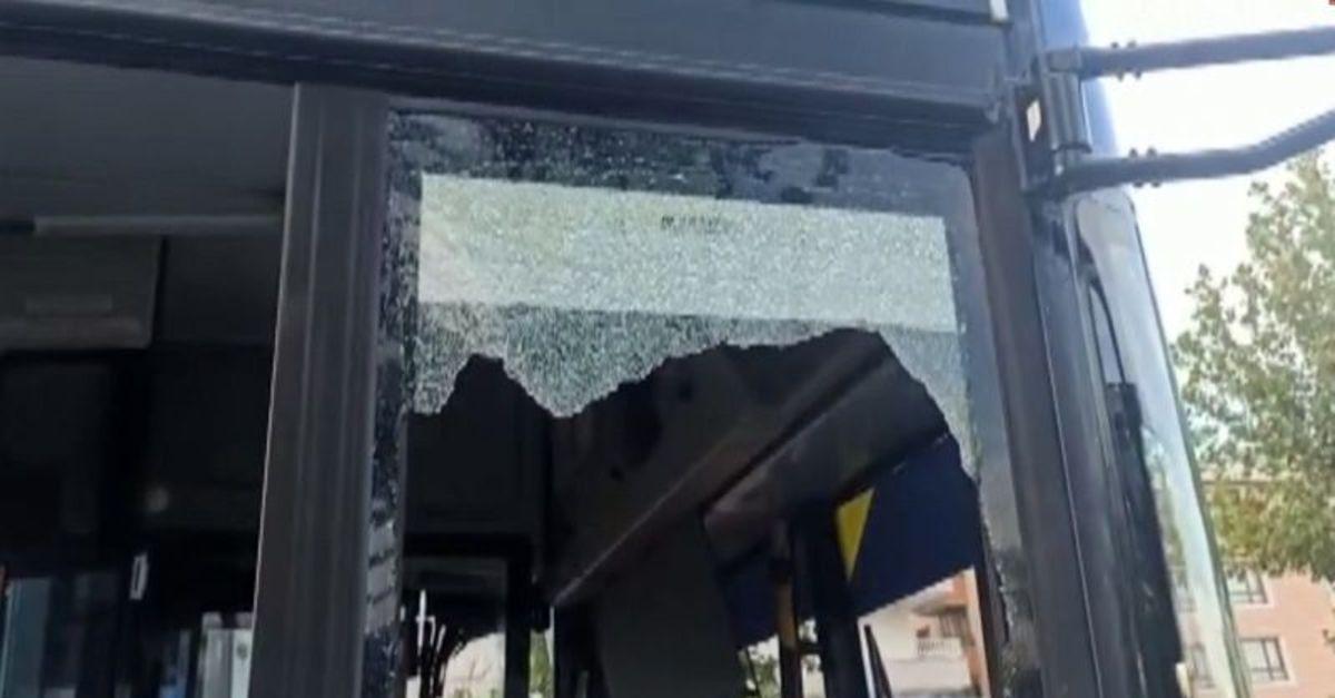 Başkent'te belediye otobüsüne ateş eden kişi yakalandı