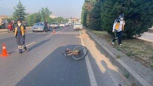 Bir bisikletli kurban daha!
