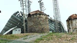 Bodrum'da çıkan fırtına çatıyı metrelerce uçurdu