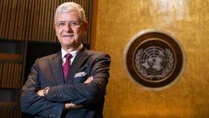 Bozkır, BM Genel Kurulu Başkanlığı görevini devraldı