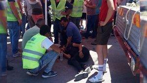 Çanakkale'de iş kazası! 1 işçi hayatını kaybetti