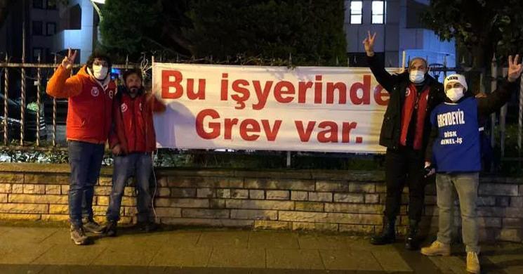 CHP'li Belediye İşçileri Greve Gitti!