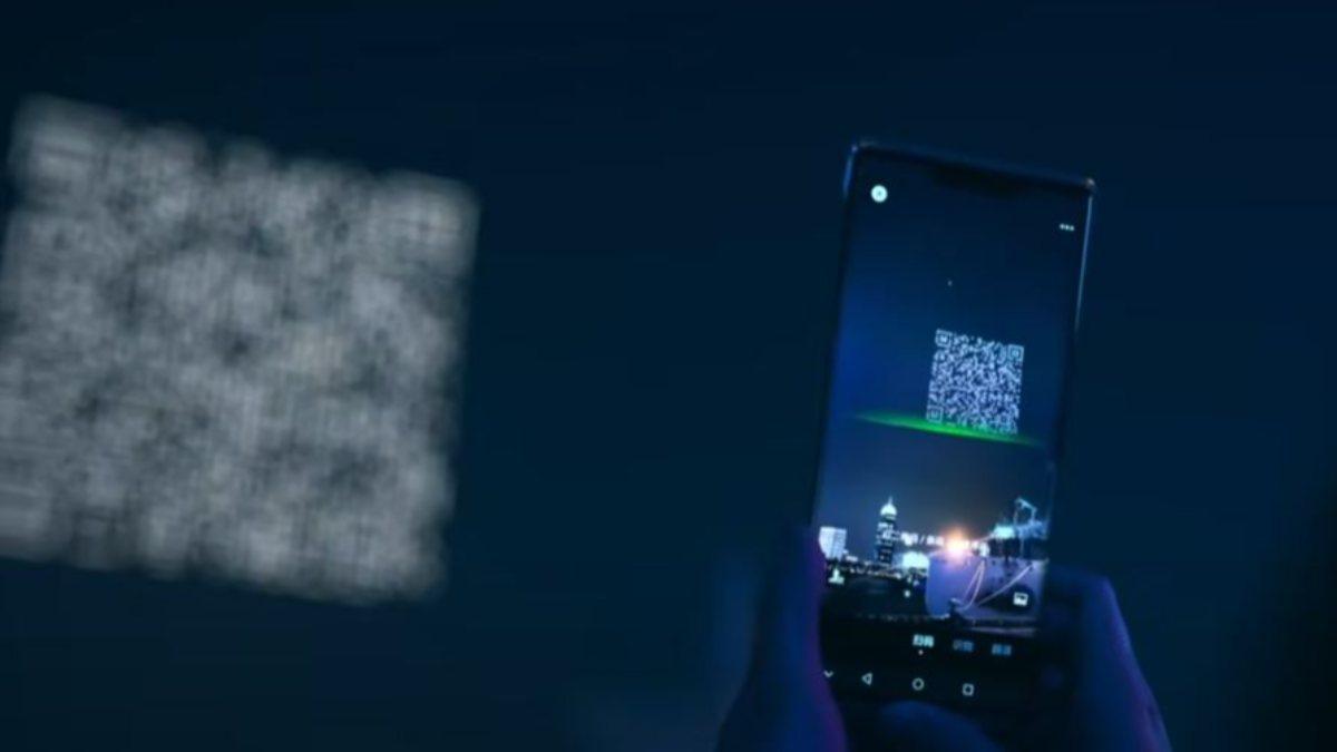 Çin'de bir şirket, 1500 drone ile QR kod oluşturdu
