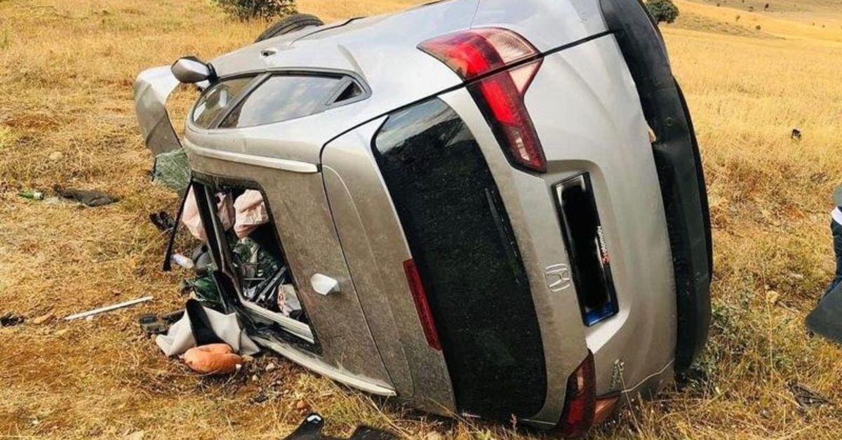 Cipler çarpıştı: 1 ölü, 6 yaralı