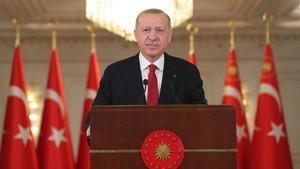 Cumhurbaşkanı Erdoğan'dan 8 Mart mesajı