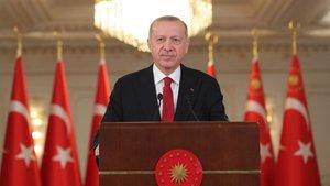 Cumhurbaşkanı Erdoğan Denizkurdu Tatbikatı'nda seslendi