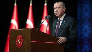 Cumhurbaşkanı Erdoğan gençlerle