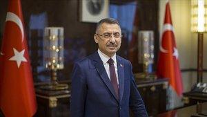 Cumhurbaşkanı Yardımcısı Oktay'dan Jandarma Genel Komutanı Orgeneral Çetin'e kutlama