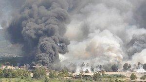 Dalaman'da ormana sıçrayan yangının başladığı fabrika mühürlendi