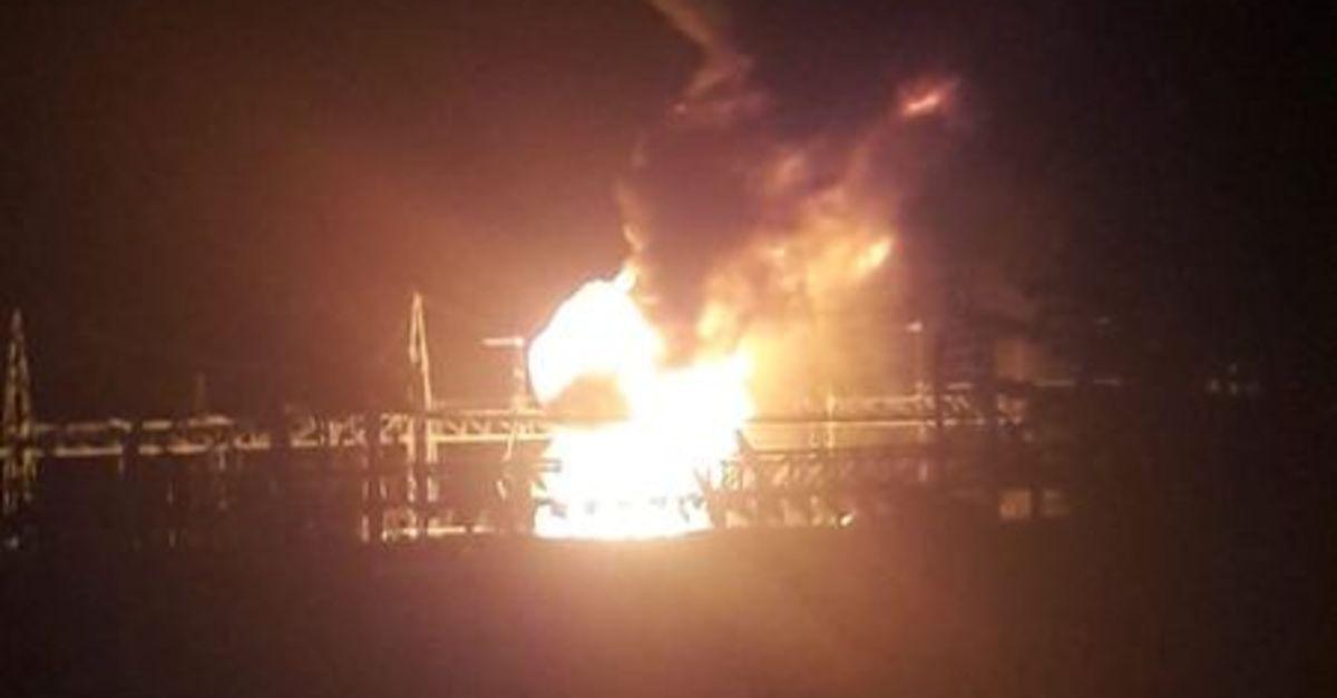 Denizli'de trafo patladı, 3 ilçe elektriksiz kaldı