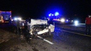 Diyarbakır'da feci kaza: 4'ü ağır, 6 yaralı
