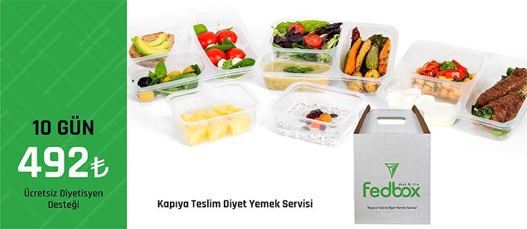 Diyet Yemek Servisi Fedbox Adından Söz Ettirmeye Devam Ediyor