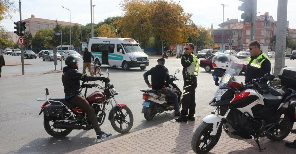 EGM'den ülke genelinde motosiklet denetimi