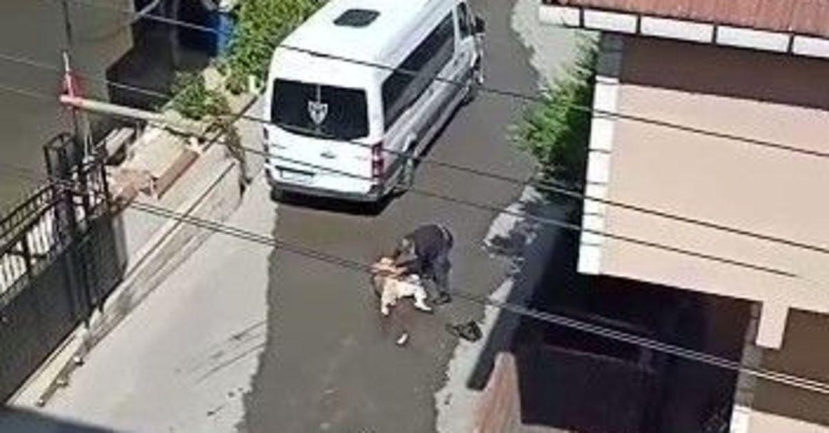 Eşine sokak ortasında dehşeti yaşatan koca tutuklandı