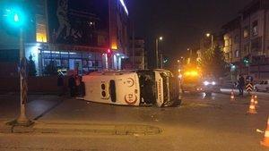 Gaziantep'te ambulans kazası: 4 yaralı
