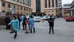 Gaziantep'te hastanede oksijen tüpü patladı: 9 ölü!