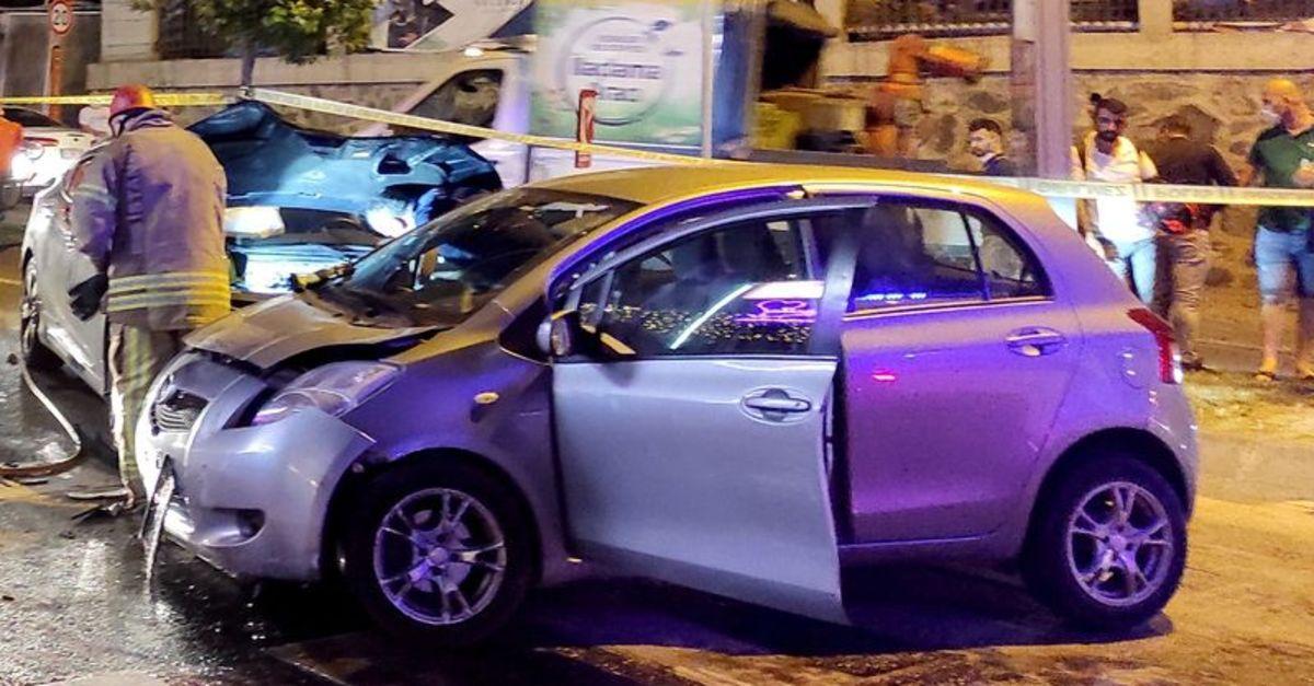 Güngören'de otomobil yayaya çarptı: 1 ölü, 2 yaralı