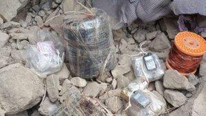 Hakkari'de PKK operasyonu! El yapımı patlayıcı ele geçirildi