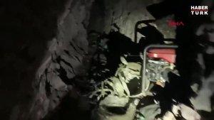 Hakurk'taki karargâh mağara vuruldu!