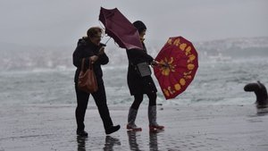 Hava durumu: Yağmur ve fırtına uyarısı