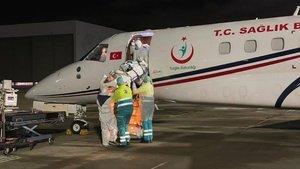 Hollanda'daki Kovid-19 hastası Türk'ün yardımına Türkiye yetişti