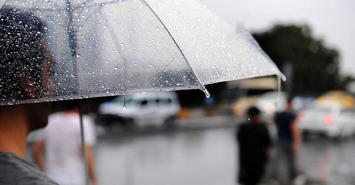 İstanbul'a yağmur uyarısı