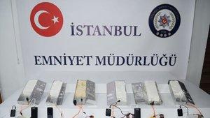 İstanbul'da 5 kilogram plastik patlayıcı ele geçirildi