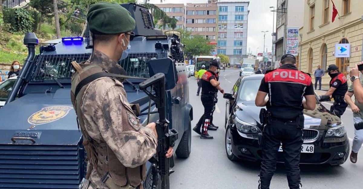 İstanbul'da aranan 361 şüpheli yakalandı