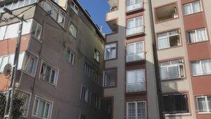 İstanbul'da feci olay! Çatı katından düşen kadın öldü!